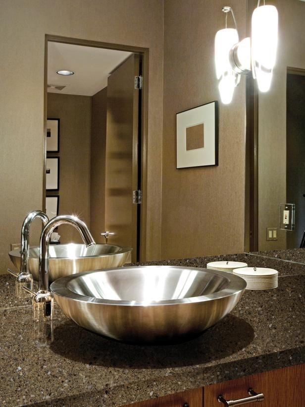 91 best quartz countertops images on pinterest - Engineered stone bathroom countertops ...