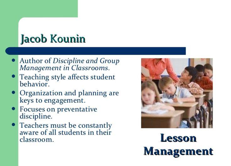 7 best jacob kounin education theorist images on pinterest kounins lesson management fandeluxe Choice Image
