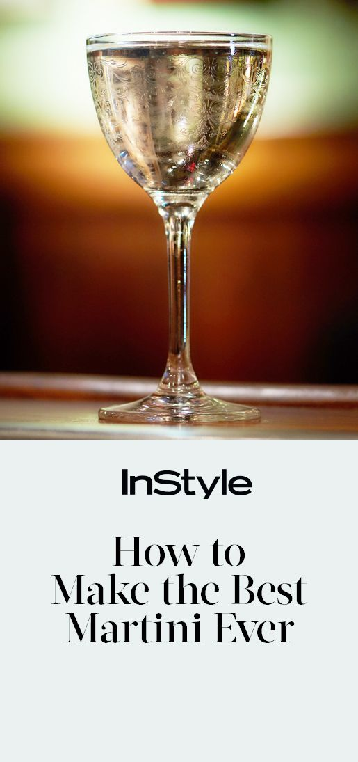 How to Make the Ultimate Summer Martini with Just 3 Ingredients from InStyle.com