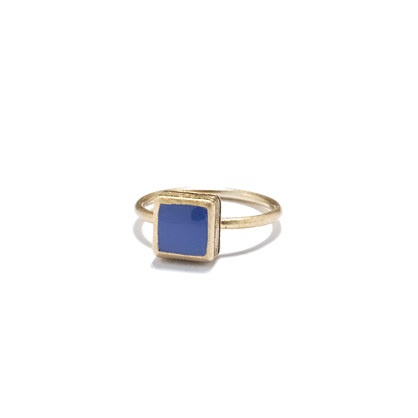 blue madewell ring