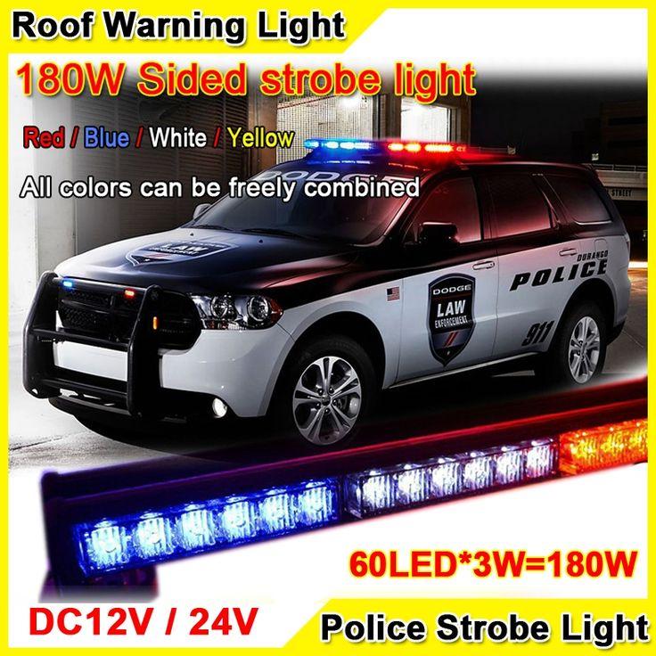 144.03$  Buy here - http://aliiul.worldwells.pw/go.php?t=32357791211 - 180W 30'' Super Bright Car Roof Led Strobe Lights Bar Police Emergency Warning Fireman Flash 12V/24V Red Blue Led Police Lights 144.03$