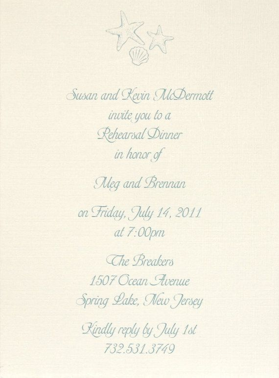 190 best Rehearsal Dinner D\B images on Pinterest Marriage - how to write a invitation letter for dinner