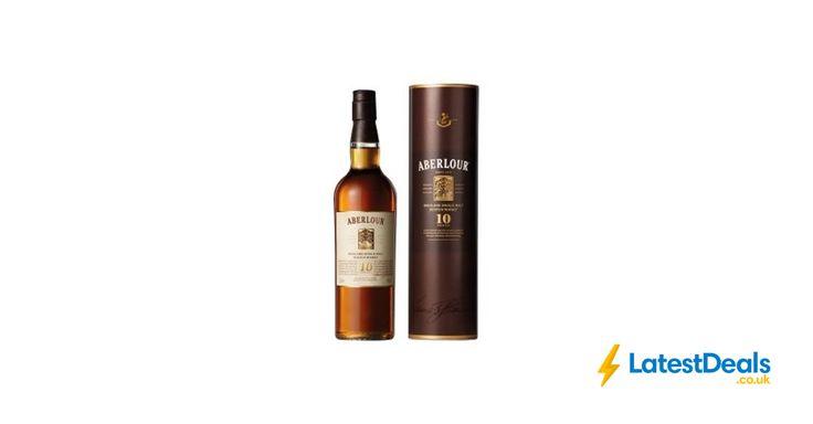 Aberlour Single Malt Scotch Whisky 10 Years Old Free C&C, £22 at ASDA