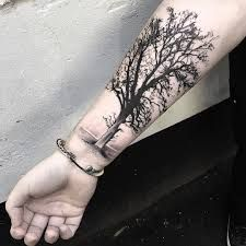 Image result for oak tree tattoo