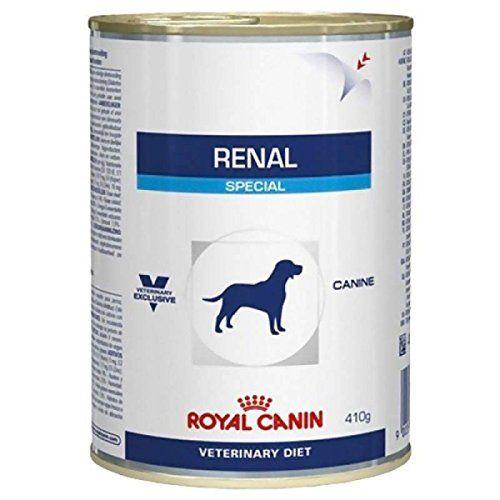 Aus der Kategorie Nassfutter  gibt es, zum Preis von EUR 9,42  <br/>Die Lebensmittel abtupfen médicalisé Royal Canin Katzenfutter Veterinary Diet-Renal Special wurde entwickelt um die Hunde mit D 'chronische Nierenerkrankung, für der Vorbeugung von Berechnungen Calciumoxalat und für die Verwaltung der Rückfälle D' urolithiase (was-wäre-wenn-urate und Cystin).<br/>Diese Formel ist mehr appétente.<br/> Gegen Hinweis:<br/>Trächtigkeit, Laktation<br/>Welpen<br/>hyperlipidémie<br/> Rahmen…