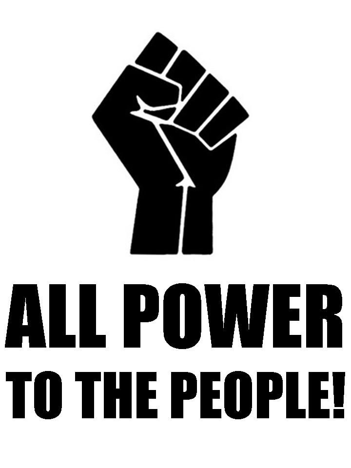 All power to the people | Black panther party, Black panthers ...