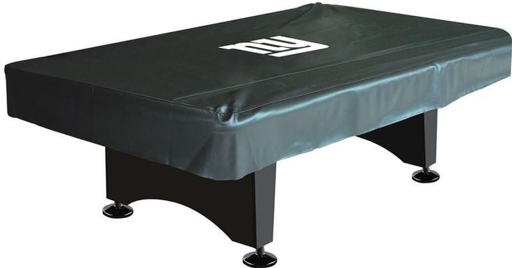New York Giants 8' Deluxe Pool Table Cover