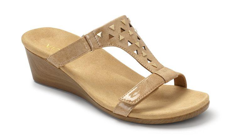 Maggie Adjustable Wedge Orthaheel Tech Sandals Amp Flip