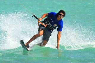 The exciting water sport of kiteboarding can be enjoyed by almost anyone, and combines the best features of windsurfing, wakeboarding and sailing. The island of Providenciales is home to Long Bay Beach, one of the finest kiting locations in the Caribbean. Learn about kite lessons and instruction, great locations, weather conditions, and equipment rentals.