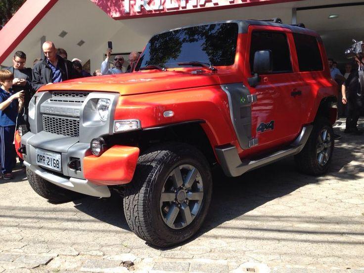Ford mostra o Troller T4 2015 – veja fotos da nova geração do jipão