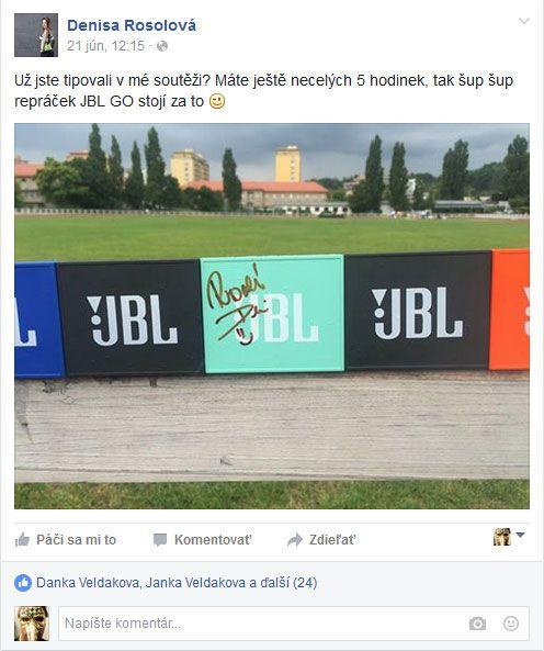 Denisa Rosolova, JBL GO