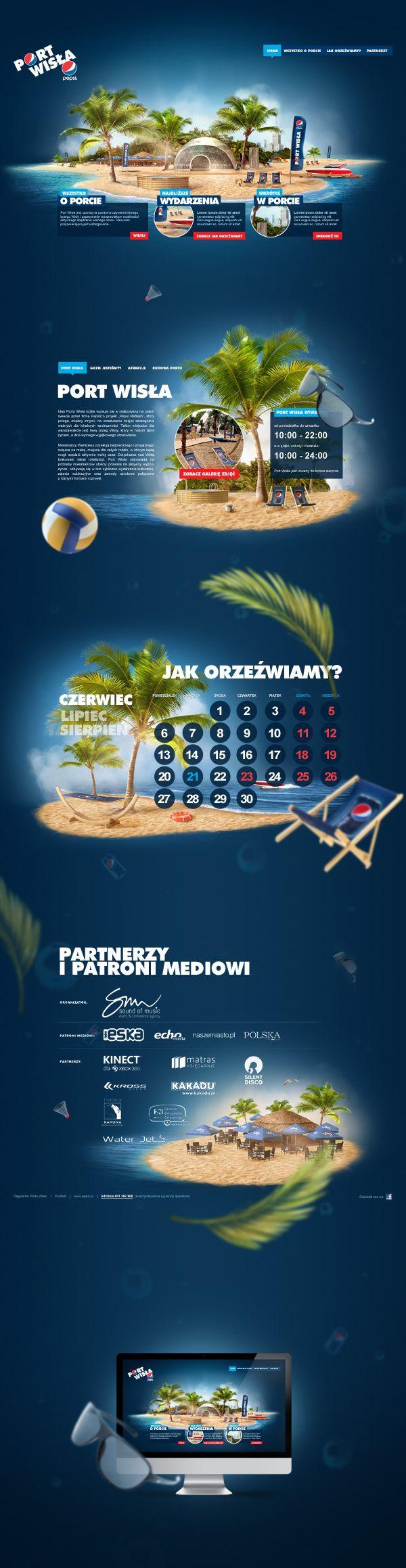 Pepsi | Port Wisła by Fuse Collective & Maciej Mizer & Piotr Em