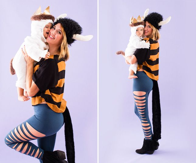 22 DIY Mommy + Me Halloween Costumes via Brit + Co.