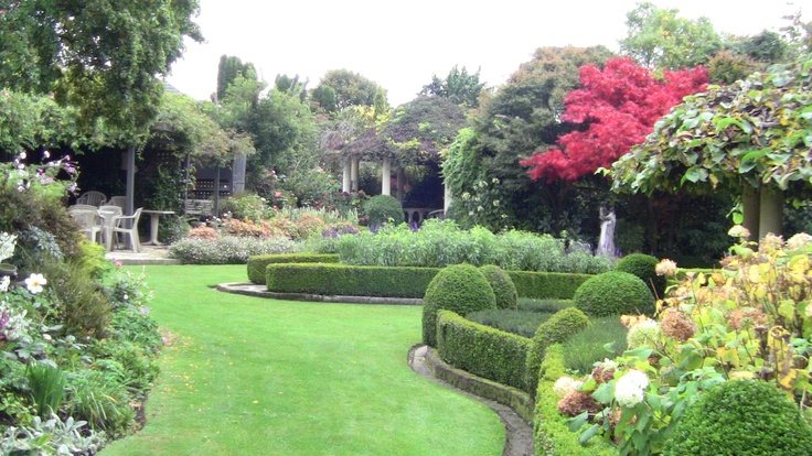 View across the Garden.