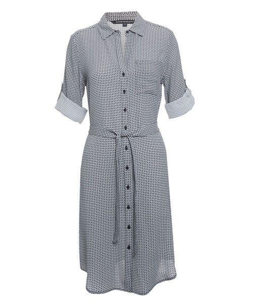 Dianna Dress, NAVY/IVORY, hi-res