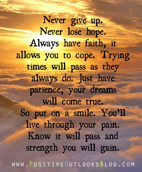 Always Have Faith - Positive Outlooks and Humor