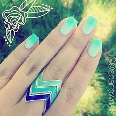 Love the nails and ring ?
