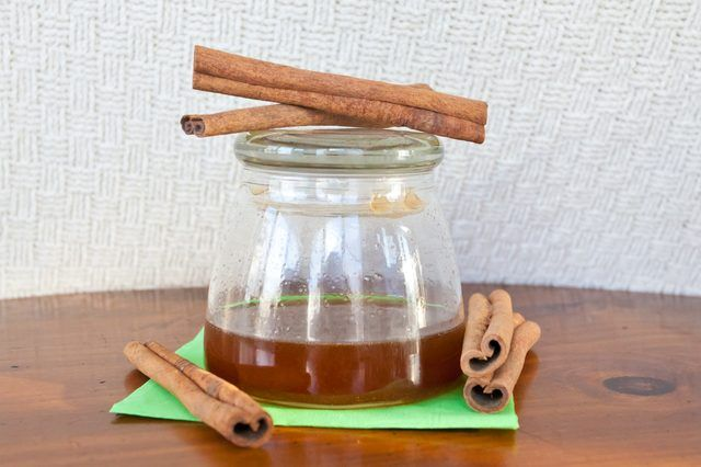 Easy Recipe on How to Make Cinnamon Oil. Items that we have at home. Hope it works, and I won't have to buy oil for homemade scented pinecones!