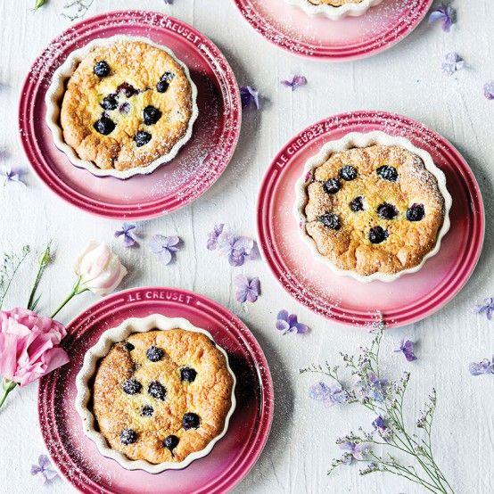 Blueberry Clafoutis - Le Creuset Recipes