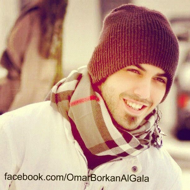 Omar Borkan Al Gala. Deported for being too handsome..that's hilarious!