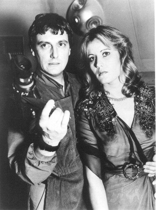 Kerr Avon & Jenna Stannis - Paul Darrow & Sally Knyvette - Blake's 7 1978 - 1981
