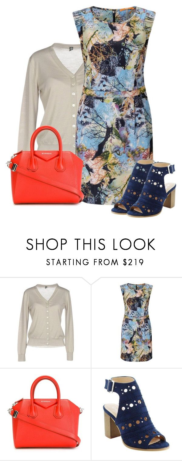 """""""Summer Dress (Outfit Only)"""" by oxigenio ❤ liked on Polyvore featuring Eleventy, BOSS Orange and Givenchy"""