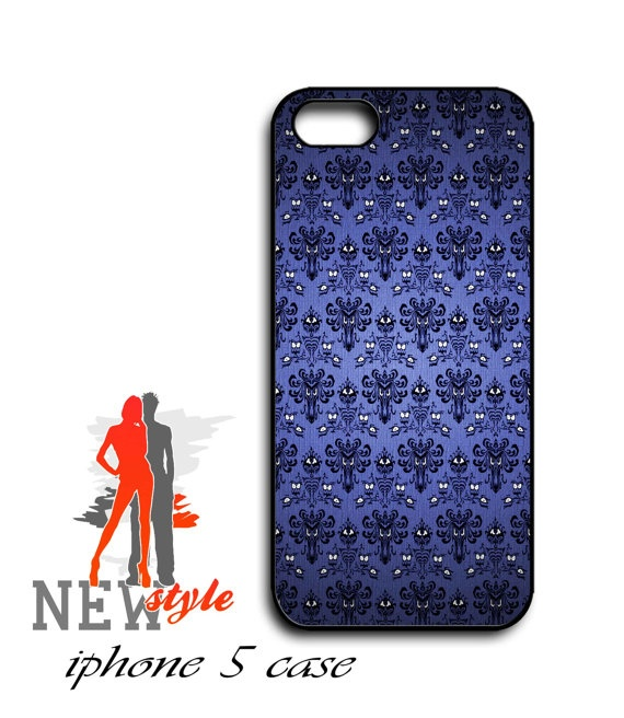 iphone 5 case  Haunted Mansion Wallpaper  iphone by NewStyleDesign, $16.00
