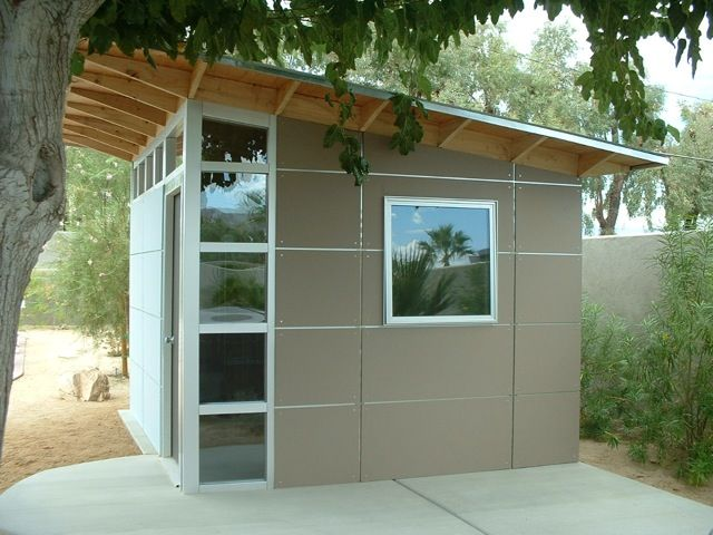25 best ideas about studio shed on pinterest backyard for Modern sheds for sale