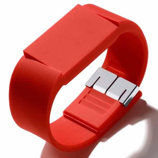 Red Mute Watch