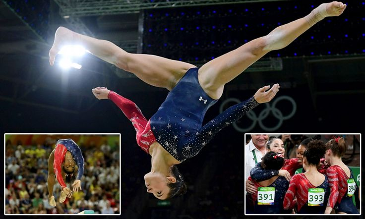 Team USA's women's gymnastics team has begun its quest to bring home gold from Rio. Gabby Douglas, 20, one fifth of the Fierce Five, was the first athlete to compete in Qualification Four.