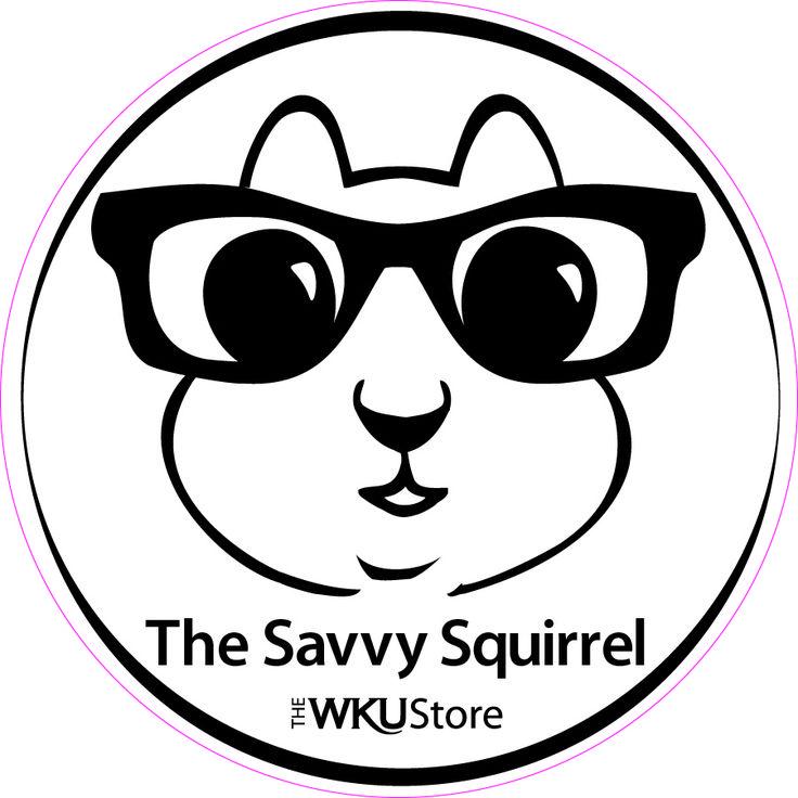 The Savvy Squirrel Sticker