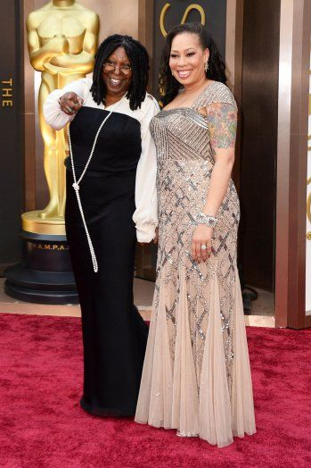 Whoopi Goldberg and daughter Alex Martin