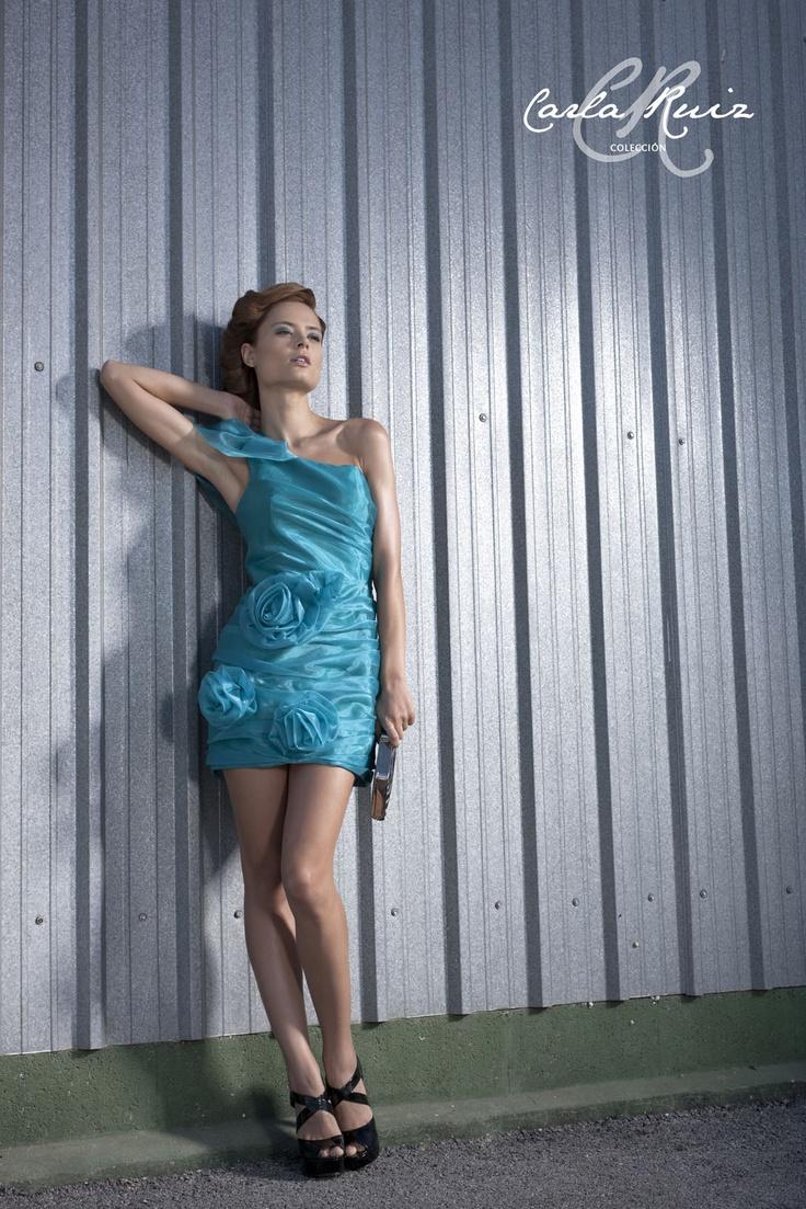 Vestido de Fiesta de Carla Ruiz 2012 - Modelo 86395