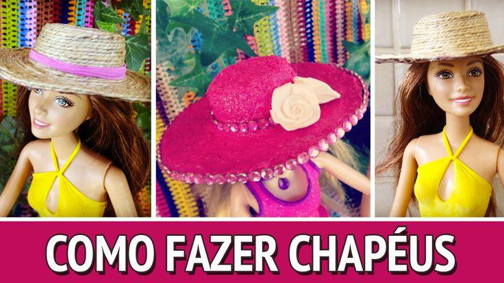 Veja como fazer um chapéu bem fácil para as suas bonecas Barbie e Monster High! Passo a passo super simples! Me siga nas redes Facebook: https://www.facebook...