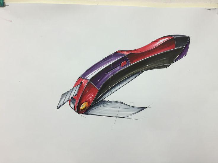 Knife marker rendering