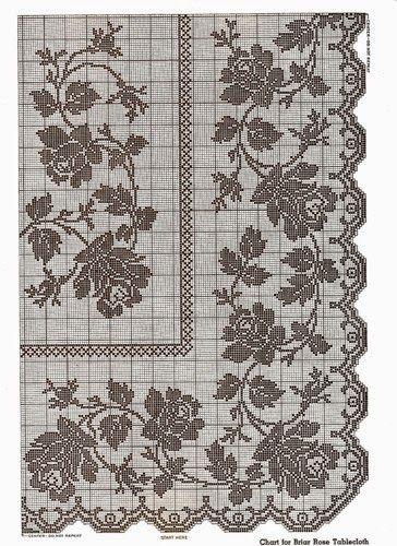 Kira scheme crochet: Scheme crochet no. 591