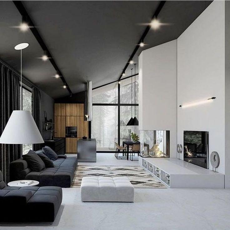 50 Stunning Home Bar Designs: 50 Stunning Modern House Design Interior Ideas
