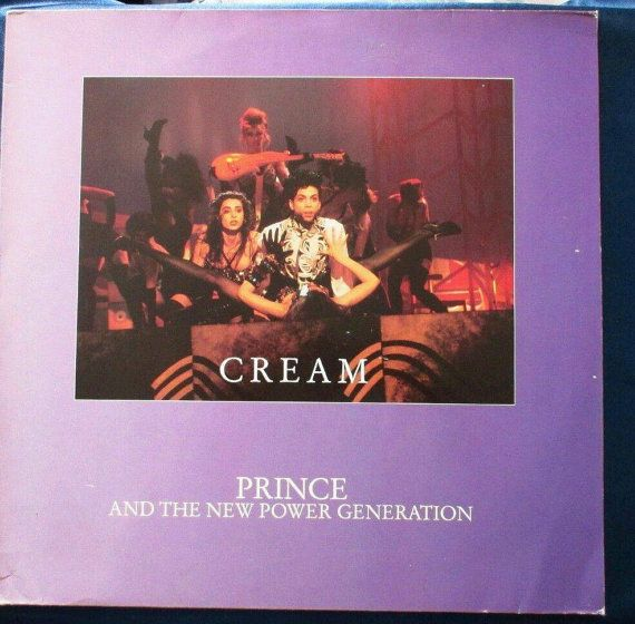 Prince Cream 1991 US 12 vinyl Maxi-Single 3-Tracks by MySalesRock