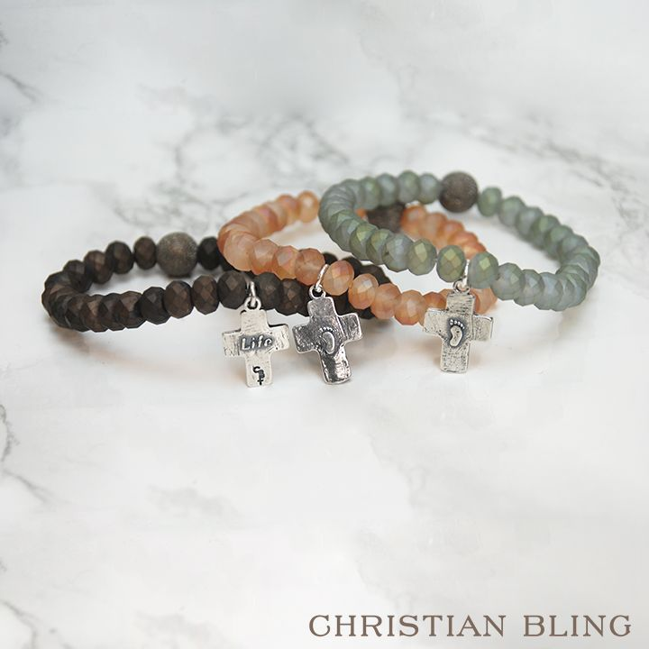 The Life Bracelets   The Life Bracelet represents the Christian conscience. Our respect for life must be shared in order to preserve the greatest gift He has bestowed upon all the earth.