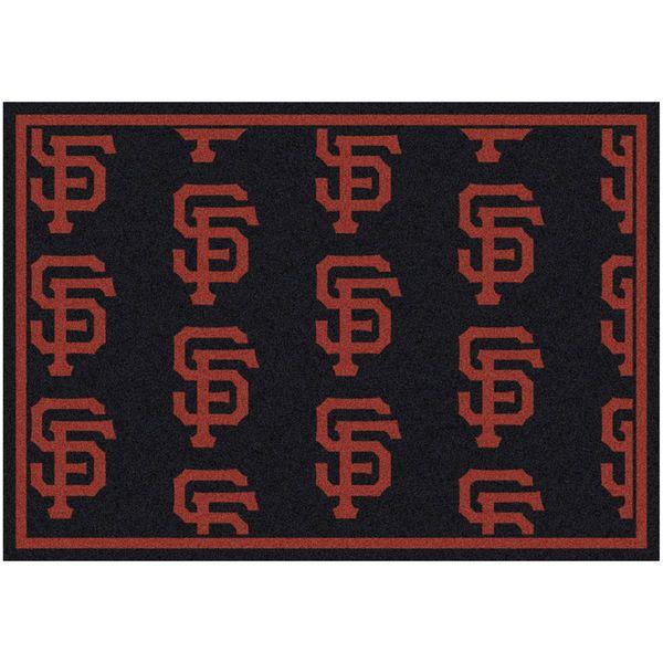 "San Francisco Giants 10'9"" x 13'2"" Repeating Rug - $859.00"