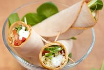 Turkey wraps – Recipes – Slimming World