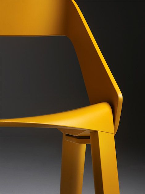 Swiss designer Jörg Boner has given their old production process an update for the digi-age: He uses Computer-Numerical-Control (CNC) milling to generate complicated forms even the Eames couldn't have fathomed.