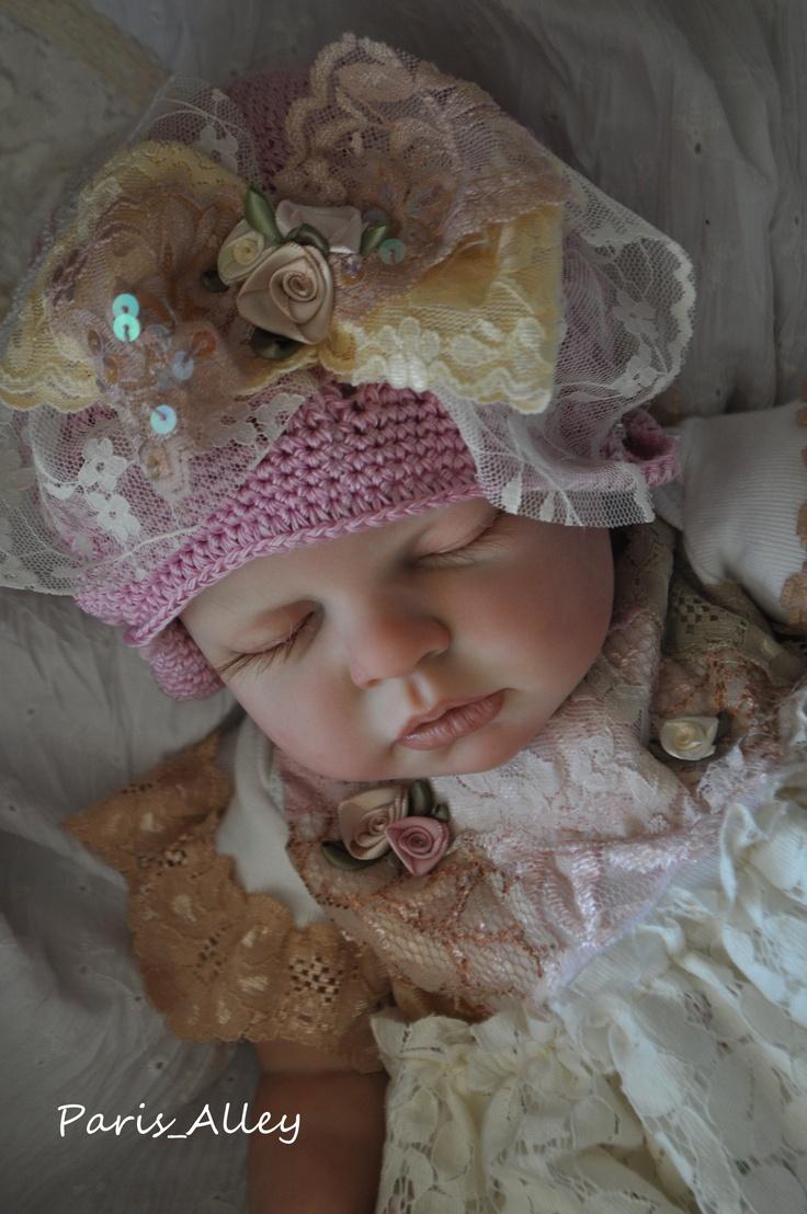 Sweet Kiss French Lace Dress Hat 4 Reborn Baby Doll   eBay1424 x 2144   762.1 KB   www.ebay.com