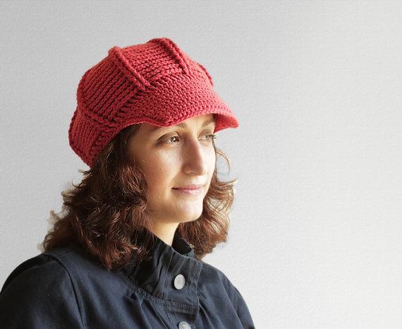 121 best Newsboy Hat Crochet images on Pinterest | Zeitungsjungen ...