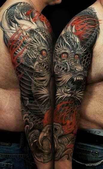 20 Incríveis tatuagens de Dragões