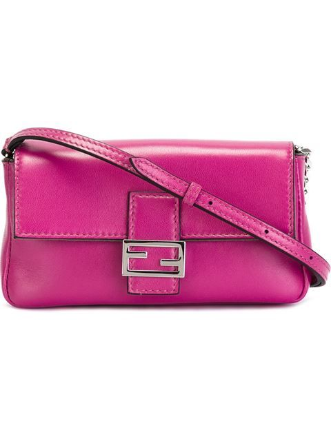 """Comprar Fendi bolso de hombro micro """"Baguette"""" en Tiziana Fausti Lugano from the world's best independent boutiques at farfetch.com. Shop 300 boutiques at one address."""