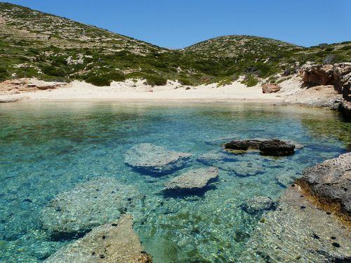 Beautiful tripiti beach - Donoussa island