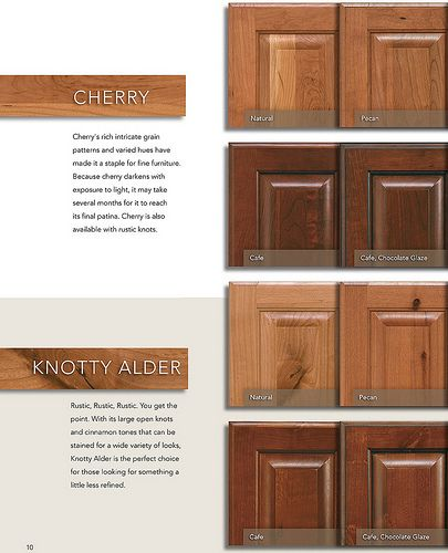 Knotty Hickory Kitchen Cabinets: Phoenix Kitchen Cabinets In Cherry, Knotty Alder In 2020