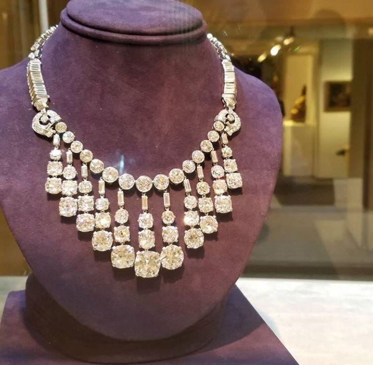 Diamonds galore. Doris Duke. Christie's auction