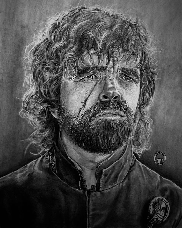 Tyrion Lannister drawing by George Wu